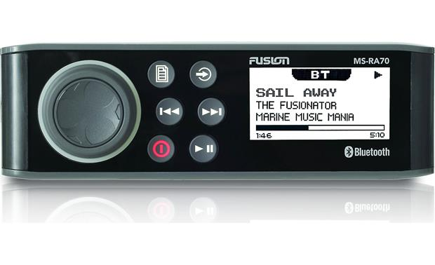 g917RA70 F fusion ms ra70 marine digital media receiver with bluetooth� (does Fusion MS- RA50 at n-0.co