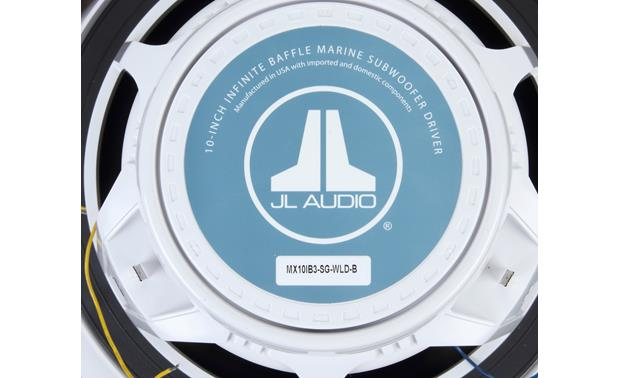 JL Audio MX10IB3-SG-WLD-B Back