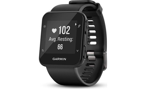 Garmin Forerunner 35 Forerunner 35's built-in heart rate monitor tracks your effort level.
