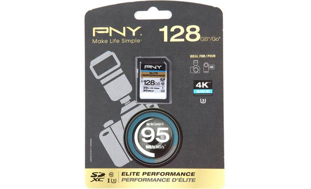 PNY Elite Performance SDXC Memory Card Front
