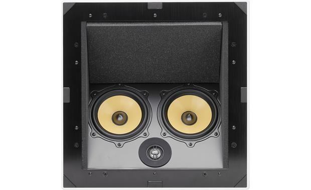 psb c-lcr in-ceiling speaker with built-in enclosure at