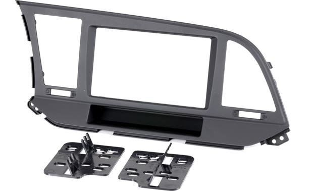 g120957376B F metra 95 7376b dash kit (matte black) fits 2017 up hyundai elantra 2017 Hyundai Elantra Interior at crackthecode.co