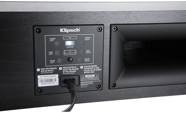 Klipsch RP-440WC Reference Premiere HD Wireless One-button wireless pairing for easy setup