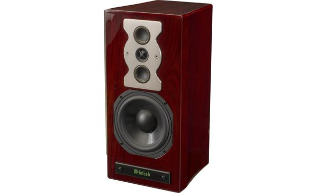 McIntosh XR50 Red Walnut (grille off)