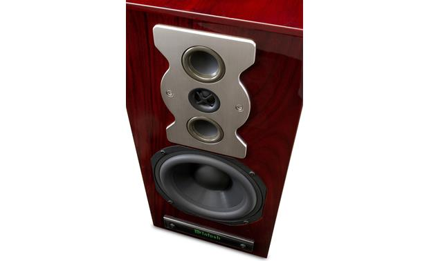 McIntosh XR50 Angled front view (Red Walnut)