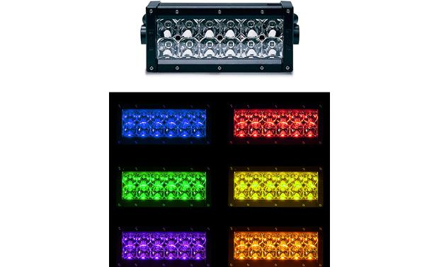 Rogue 4 D6-RGB-SB Control the multi-color lighting with an optional remote