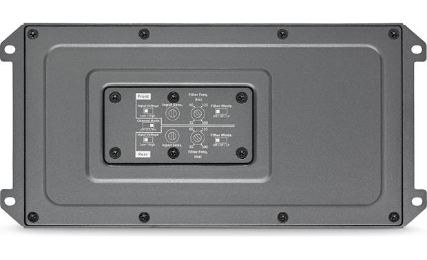 JL Audio MX500/4 A sealed cover protects the controls