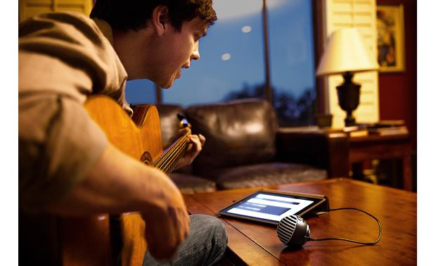 Shure MOTIV™ MV5 Gray with black foam - records directly to iPad (iPad not included)