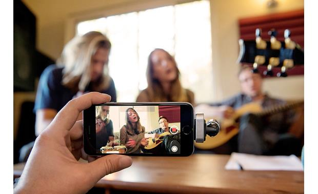 Shure MOTIV™ MV88 Record anywhere (iPhone not included)
