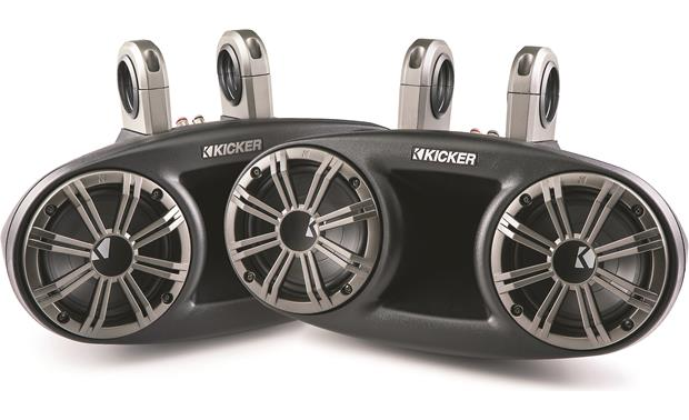 Kicker KMT674 marine tower long-throw speakers