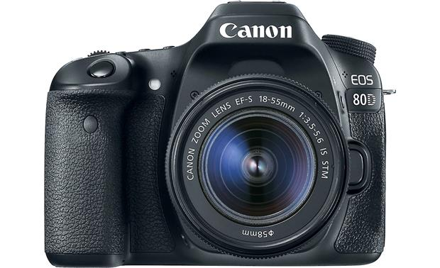 Canon EOS 80D Kit Front, straight-on