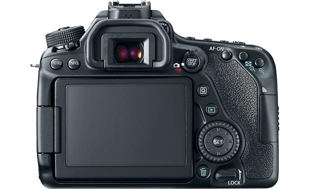 Canon EOS 80D (no lens included) Back