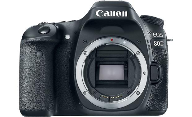 Canon EOS 80D (no lens included) Front