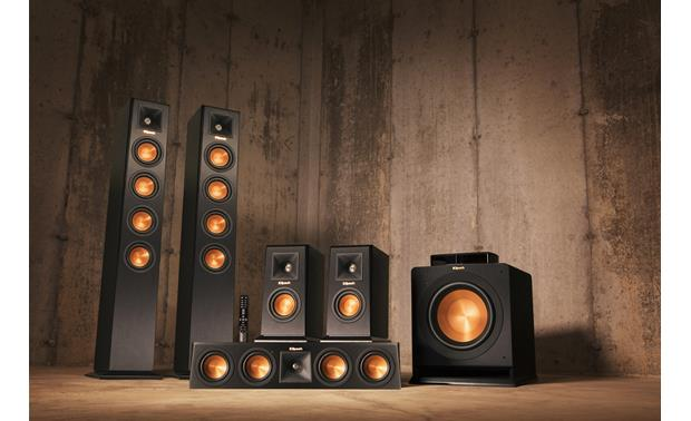 Klipsch Reference Premiere HD Wireless 5.1 Surround Sound System True wireless 5.1 surround sound