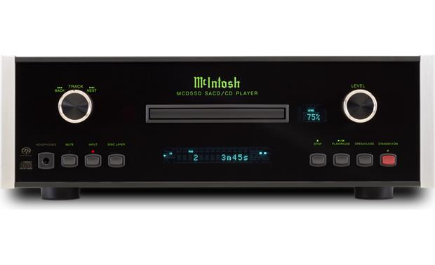 McIntosh MCD550 Direct front view
