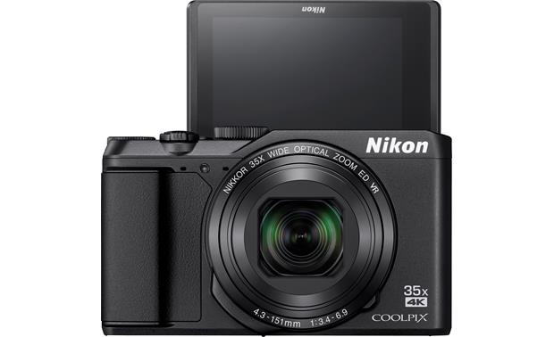 Nikon Coolpix A900 Taking a selfie? Flip the screen up to help frame the shot.