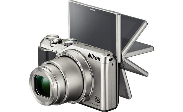 Nikon Coolpix A900 Use the vari-angle LCD screen to help frame shots, even if you're in them