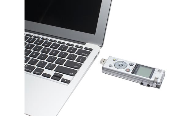 Olympus DM-720 Plug directly into a laptop (laptop not included)