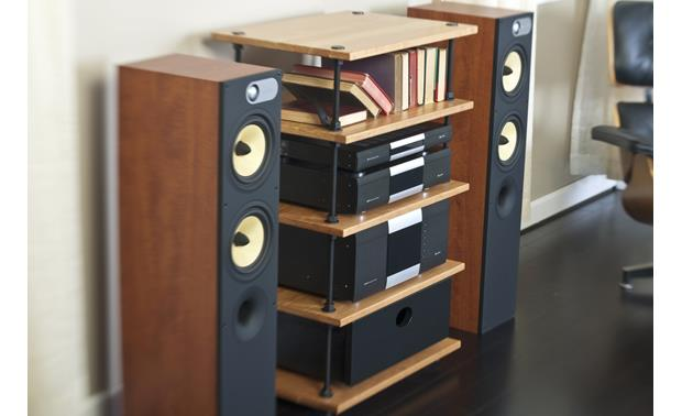 Salamander Designs A5 Archetype Natural Cherry (components and speakers not included)