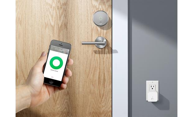 August Connect Lock or unlock your door anywhere with the free August app