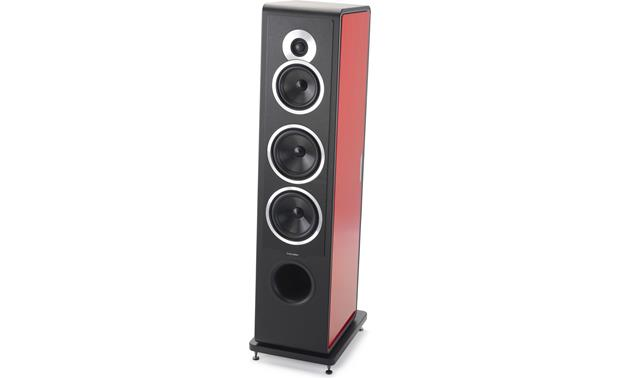 Sonus Faber Chameleon T side panels Sonus fabe Chameleon T floor-standing speaker with Red side panels