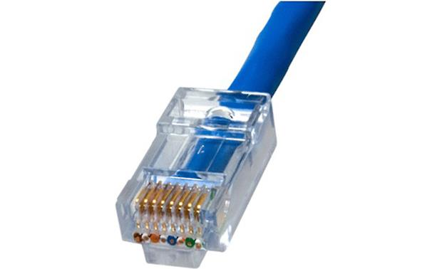 On-Q EZ-RJ45 Trim each wire easily and neatly (shown with EZ-RJ45 connectors, not included)