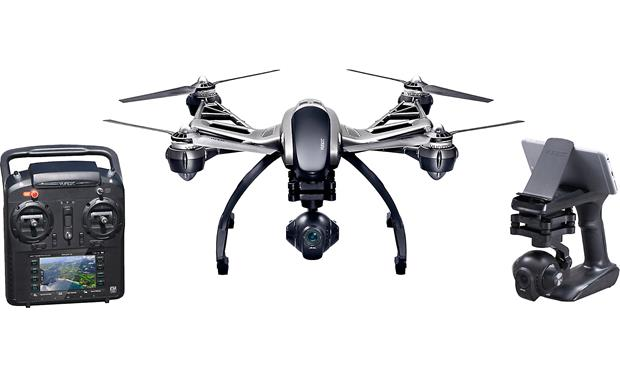 Yuneec Typhoon Q500 4K RTF Quadcopter Bundle Front