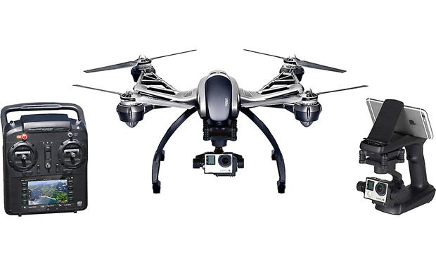 Yuneec Typhoon G Quadcopter Front (camera and smartphone not included)