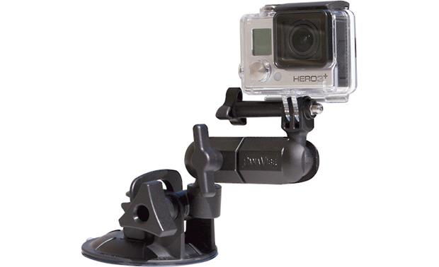PanaVise ActionGrip 3-N-1 Suction-cup mount for action cameras