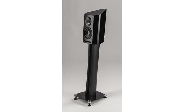 Sonus Faber Venere 1.5 Black (shown with optional Sonus faber stand)