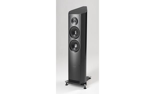 Sonus Faber Venere 2.5 Black (shown with included grille removed)