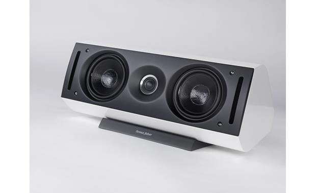 Sonus Faber Venere Center White (shown with included grille removed)