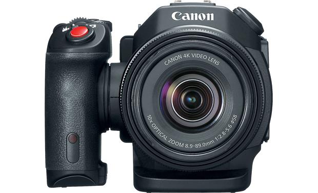 Canon XC15 Rotating ergonomic grip makes handheld shooting more comfortable and convenient