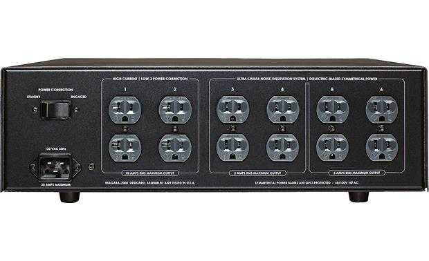 AudioQuest Niagara 7000 12 AC outlets including 4 high-current outlets