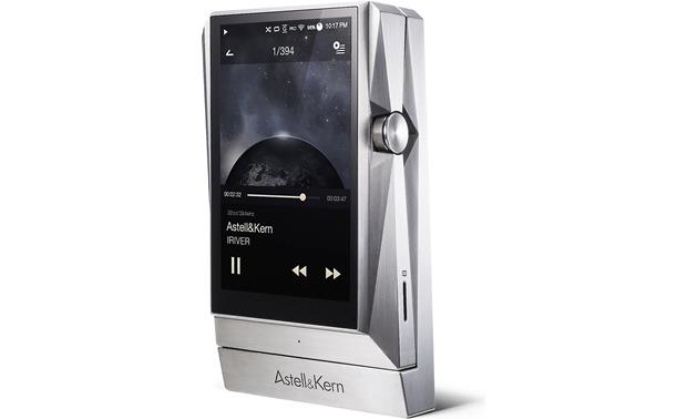 Astell & Kern AK380 Stainless Steel AK360 player and PAK11 amp - left front