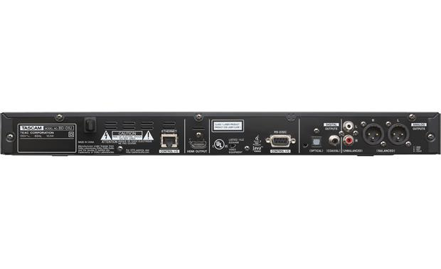 tascam bd 01u rack mountable blu ray player with xlr connections at crutchfield. Black Bedroom Furniture Sets. Home Design Ideas