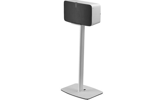 Flexson Horizontal Floor Stand Shown with PLAY:5 mounted (speaker not included)