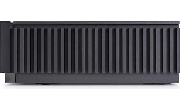 Naim Uniti Atom Side view - finned aluminum heatsinks