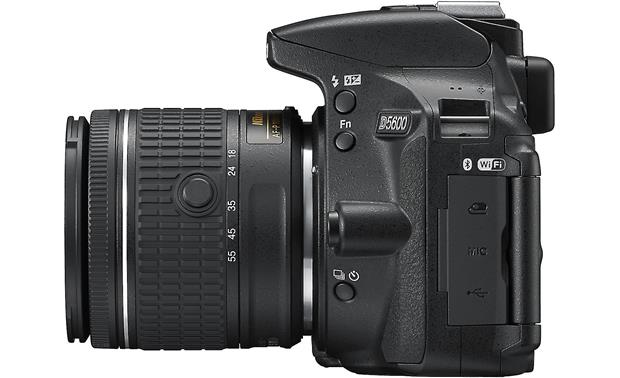 Nikon D5600 Two Lens Kit Right side