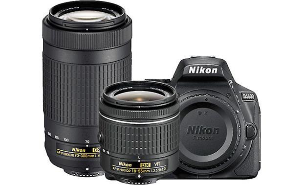 Nikon D5600 Two Lens Kit 24 2-megapixel digital SLR camera