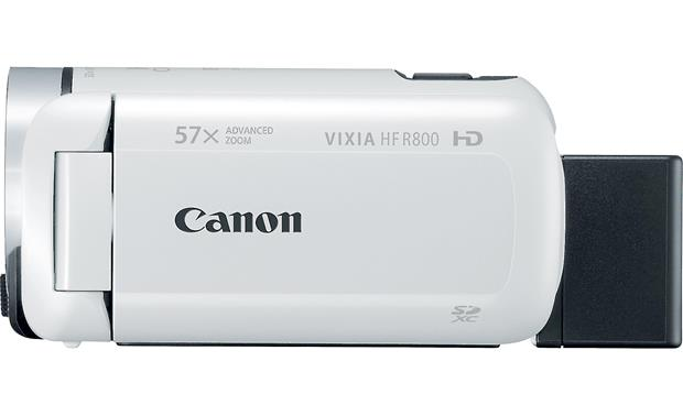 Canon VIXIA HF R800 Left side