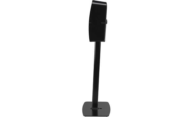 Flexson Vertical Floor Stand Shown from side with speaker mounted (PLAY:5 not included)