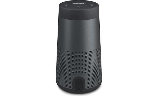 Bose® SoundLink® Revolve <em>Bluetooth®</em> speaker and charging cradle Triple Black - back