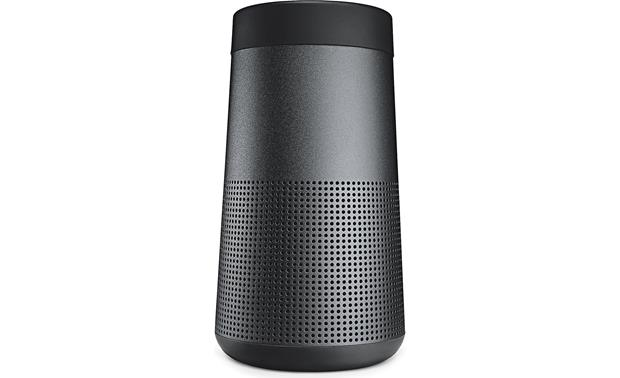 Bose® SoundLink® Revolve <em>Bluetooth®</em> speaker and charging cradle Triple Black - front