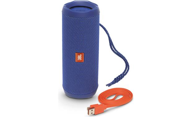 JBL Flip 4 Blue - with included accessories