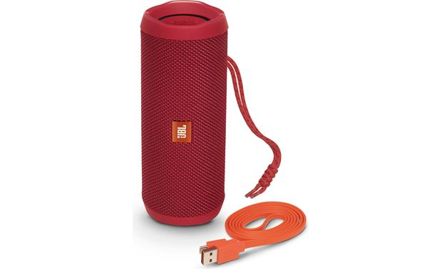 JBL Flip 4 Red - with included accessories