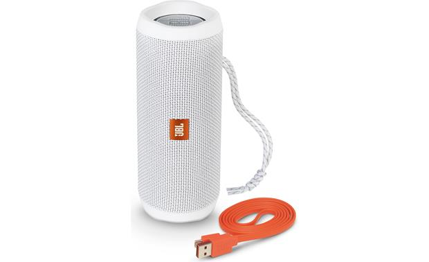 JBL Flip 4 White - with included accessories