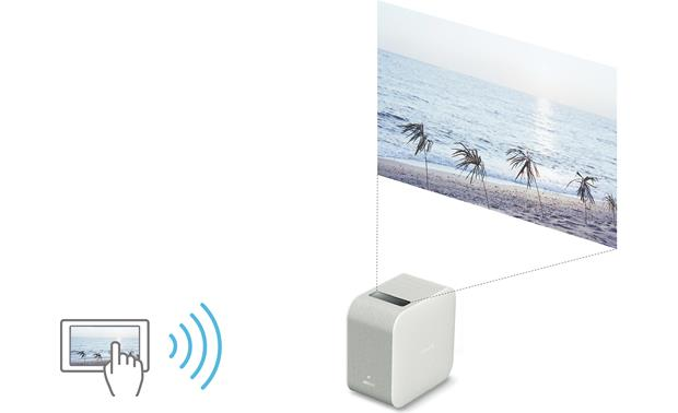 Sony LSPX-P1 You can wirelessly cast photos and videos from your phone or tablet