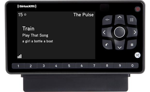 SiriusXM Onyx EZR & SXSD2 Package Adjustable screen: white on black