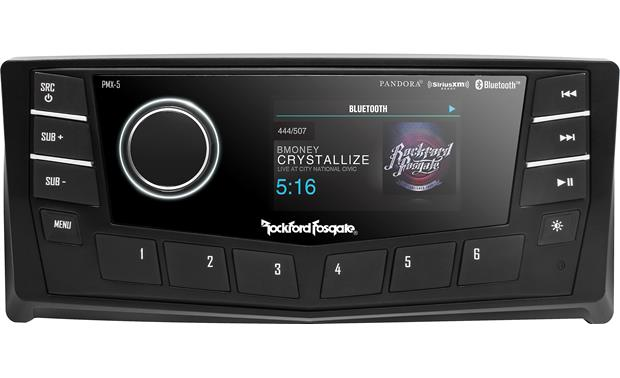 Rockford Fosgate PMX-5CAN marine digital media receiver w/ CANbus